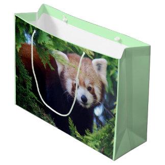 Roter Panda Große Geschenktüte