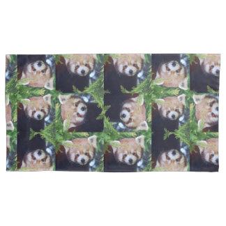 Roter Panda Kissenbezug