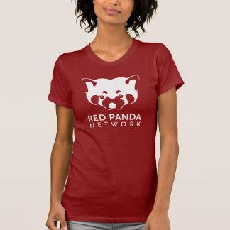 Roter Panda-Logo-Körper-T-Stück T-Shirt