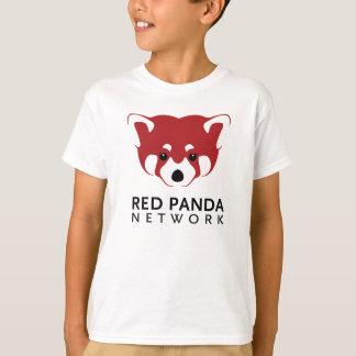 Roter Panda-Logo-T-Stück Kinder T-Shirt