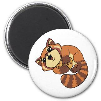 Roter Panda! Runder Magnet 5,1 Cm