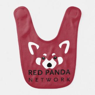 Roter Panda-Schellfisch Lätzchen