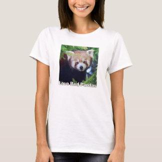Roter Panda T-Shirt