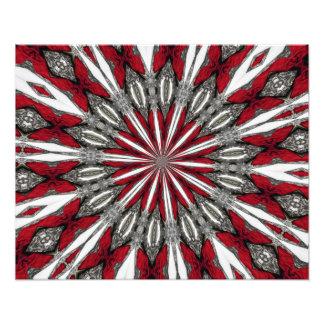 Roter Pfeil-Medaillon-Foto-Druck Photodrucke