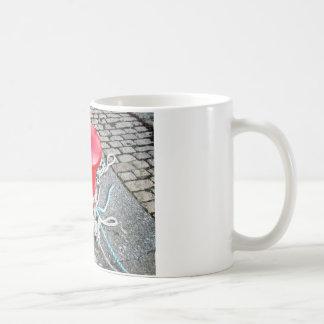 Roter Posten Kaffeetasse