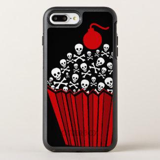 +|| roter Schädel u. Crossbone kleiner Kuchen ||+ OtterBox Symmetry iPhone 8 Plus/7 Plus Hülle