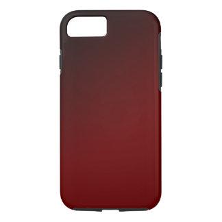 Roter schwarzer Steigung iPhone 7 Kasten iPhone 7 Hülle