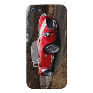 Roter Sport-Auto iPhone 5/5S Kasten iPhone 5 Etuis