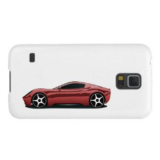 Roter Sportwagen Samsung S5 Cover