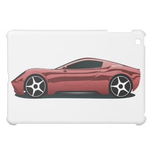 Roter Sportwagen Schutzhülle Fürs iPad Mini