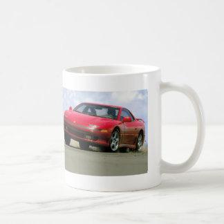Roter Sportwagen - Mitshubishi Tasse