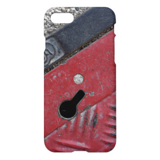 Roter Straßen-Telefon-Kasten - städtischer Vibe - iPhone 8/7 Hülle