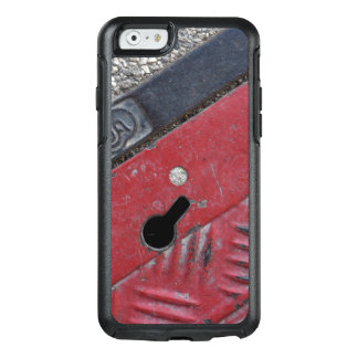 Roter Straßen-Telefon-Kasten - städtischer Vibe - OtterBox iPhone 6/6s Hülle