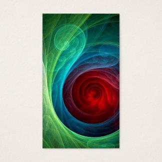 Roter Sturm-abstrakte Kunst-Geschäfts-Karte Visitenkarte