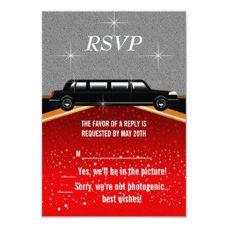 Roter Teppich Hollywood UAWG Schablone 8,9 X 12,7 Cm Einladungskarte
