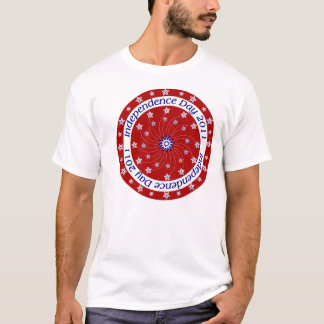 Roter Unabhängigkeits-TagesT - Shirt 2011