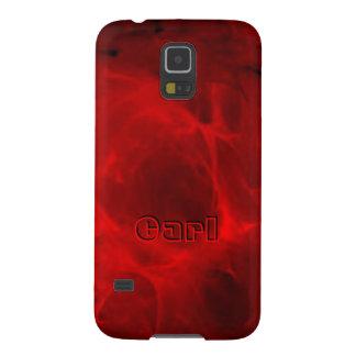 Roter Veining Kasten Samsung-Galaxie S5 für Karl Hülle Fürs Galaxy S5