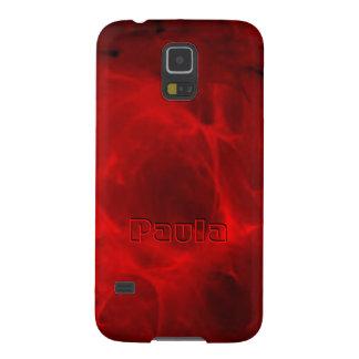 Roter Veining Kasten Samsung-Galaxie S5 für Paula Samsung S5 Hülle