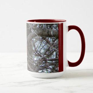 Roter Wecker-Kardinal Tasse