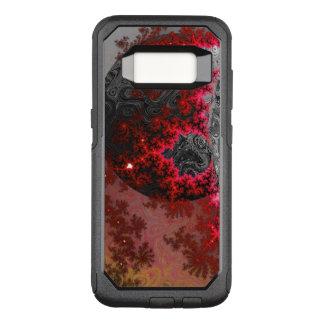 Roter Zwerg-Fraktal-Galaxie-klares galaktisches OtterBox Commuter Samsung Galaxy S8 Hülle