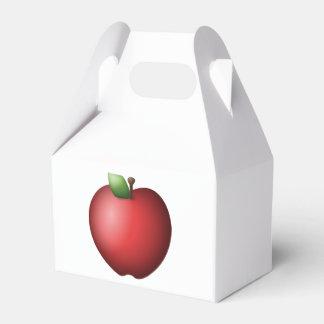 Rotes Apple - Emoji Geschenkschachtel