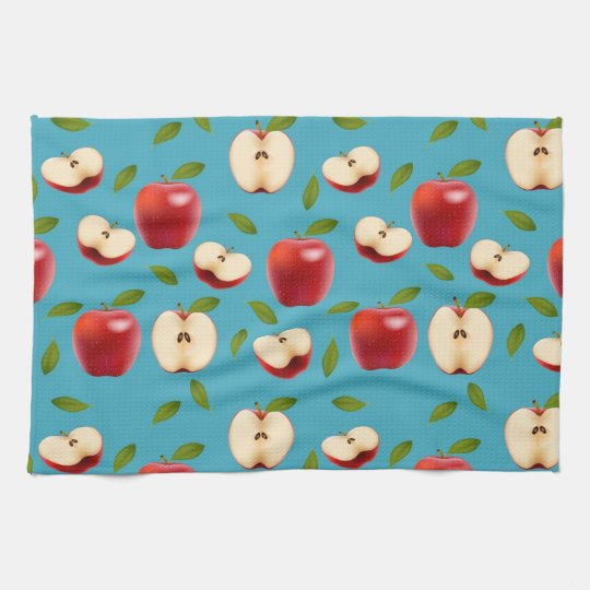 Rotes Apple kopieren Handtücher