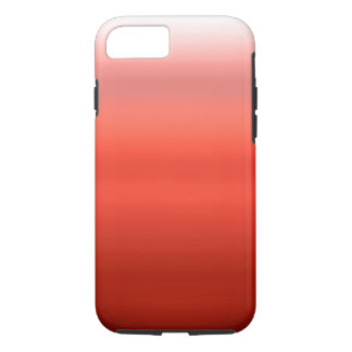 Rotes Aquarell Ombre iPhone 7 Hülle