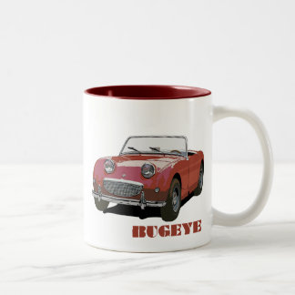 Rotes Bugeye Tee Haferl