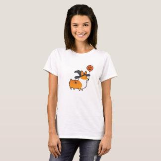 Rotes Corgi-Halloween-Shirt T-Shirt