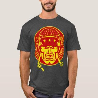 Rotes Eis verkauft Hockey-Karten-T-Shirt T-Shirt