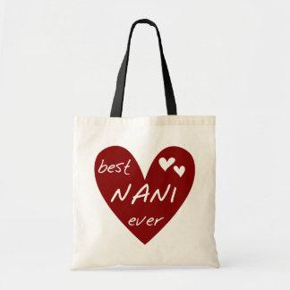 Rotes Herz beste Nani überhaupt T - Shirts und Tragetasche