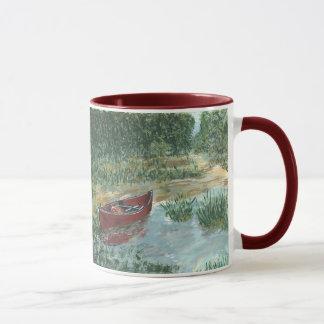 Rotes Kanu, rotes Kanu Tasse