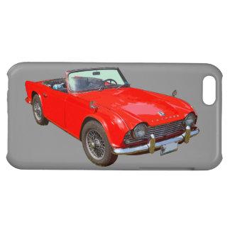 Rotes konvertierbares Sport-Auto Triumphs Tr4 iPhone 5C Cover