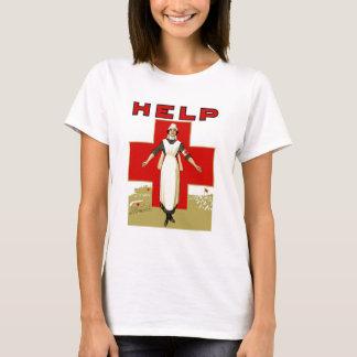 Rotes Kreuz -- Hilfe T-Shirt