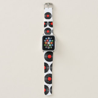 Rotes Plattenfirma-Apple-Uhrenarmband Apple Watch Armband