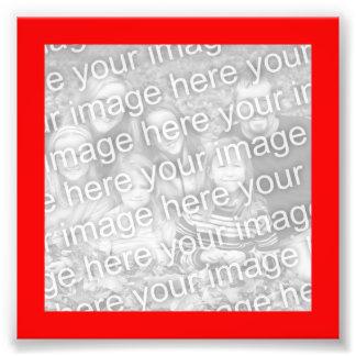 Rotes Rahmen-Foto