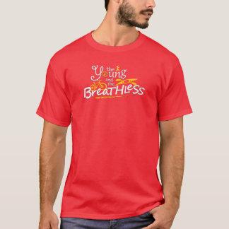 Rotes Shirt. Auch verfügbar in anderen hellen T-Shirt