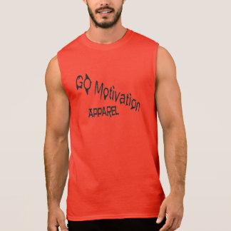 Rotes Sleeveless GOMA Ärmelloses Shirt