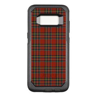 Rotes und blaues königliches Stewart-klassisches OtterBox Commuter Samsung Galaxy S8 Hülle