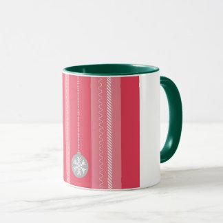 Rotes Weihnachten Tasse