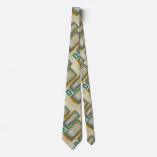 Rothko inspirierte bedruckte krawatte