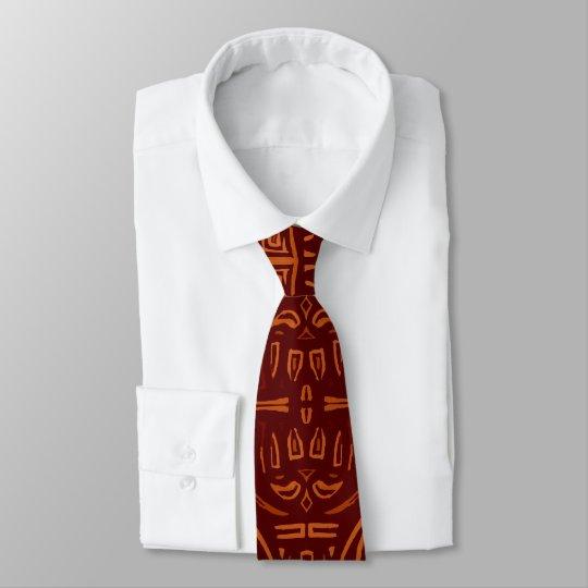 Rötliche schmückt Krawatte. Netz ties decorated. Bedruckte Krawatte