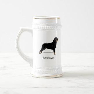 Rottweiler Bierglas