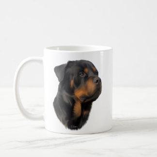 Rottweiler Hund Kaffeetasse