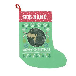 Rottweiler Hundezucht-hässliche Kleiner Weihnachtsstrumpf