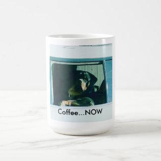 "Rottweiler ""Kaffees Tasse JETZT"""