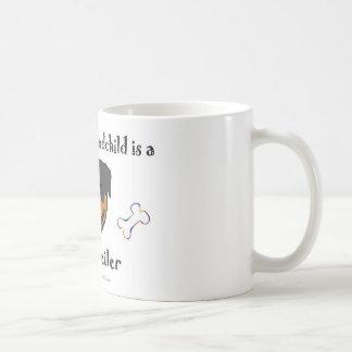 rottweiler kaffeetasse