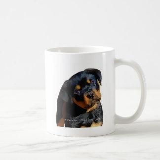 Rottweiler Welpe Kaffeetasse