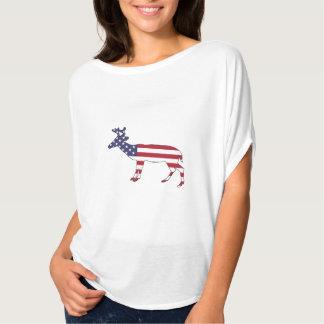"Rotwild ""amerikanische Flagge "" T-Shirt"