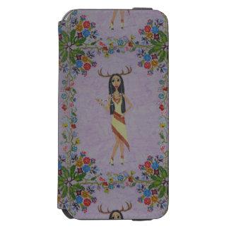 Rotwild-Frau (Märchen-Mode-Reihe #5) Incipio Watson™ iPhone 6 Geldbörsen Hülle